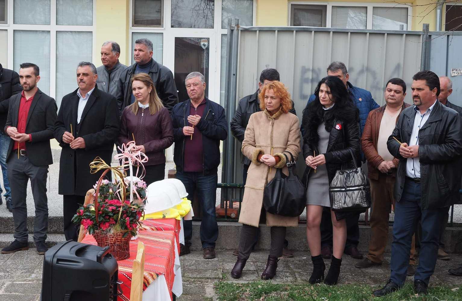 Първа копка на новата детска градина в с.Строево