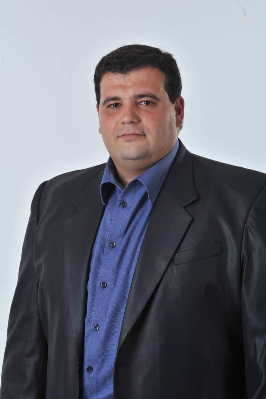 Инж. Стойчо Христозов пред сайта на Строево
